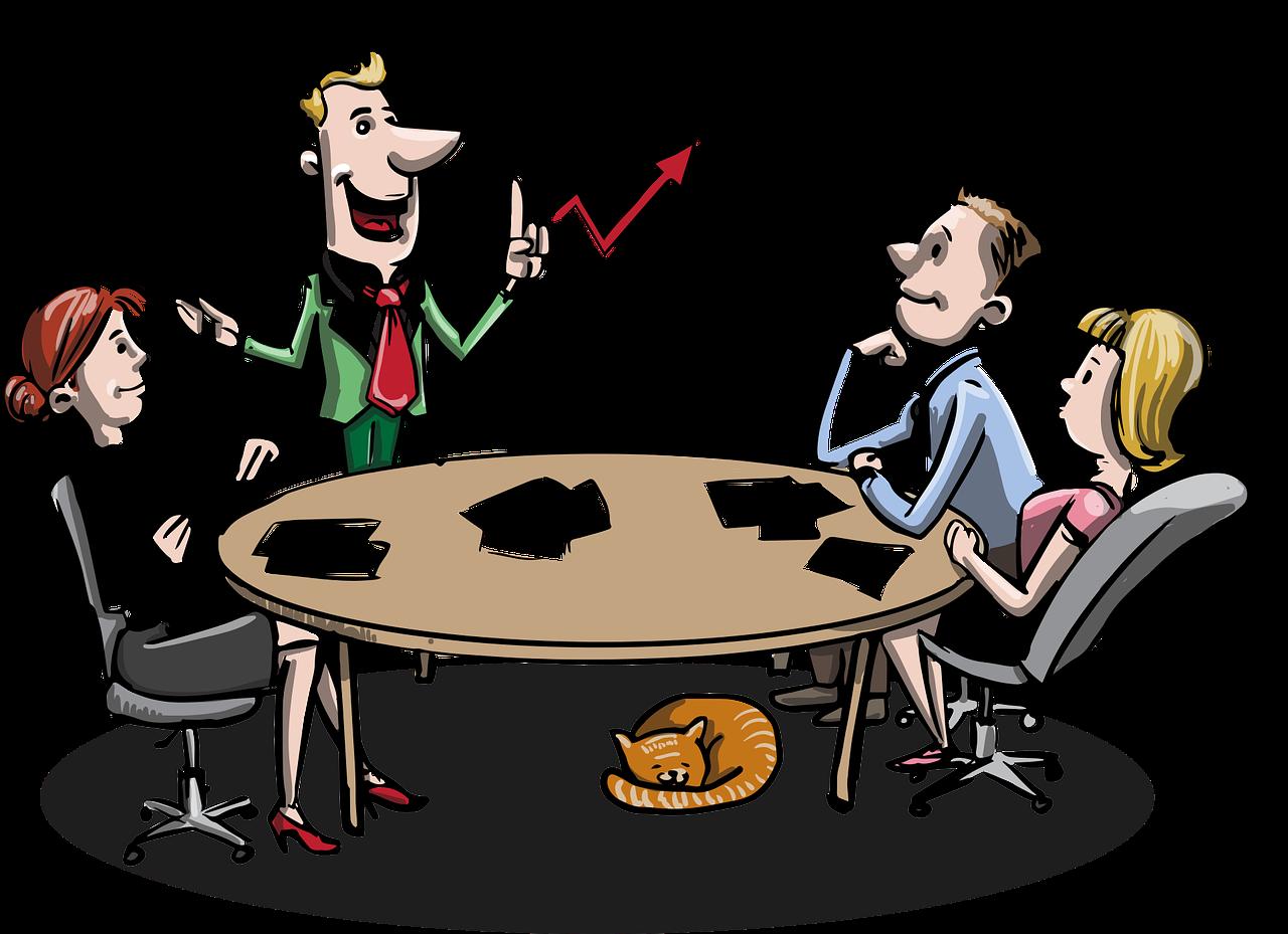 meeting, business, brainstorming